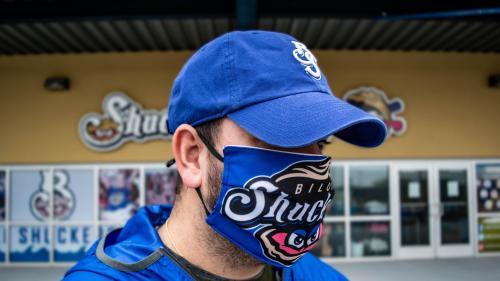 Biloxi Shuckers Face mask