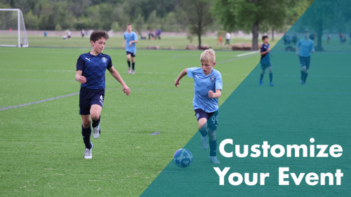 Sports - Customize Your Event