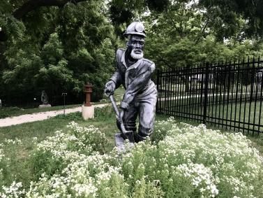 Haan Museum of Indiana Art Sculpture Garden