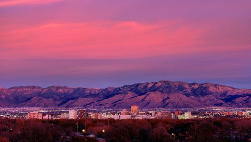 ABQ Sunset/Skyline