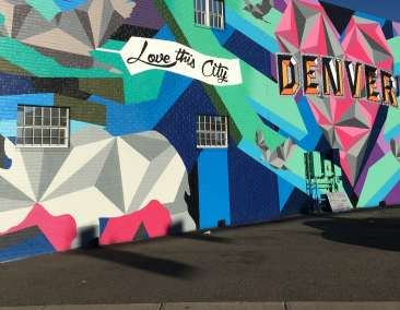 Love This City mural