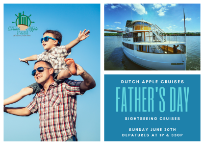 Dutch Apple Cruises Father's Day