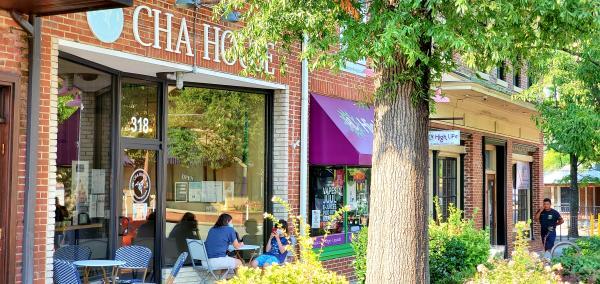 Cha House on Franklin Street, Chapel Hill