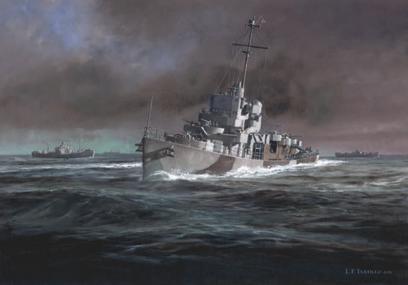 USS Slater by L.F. Tantillo