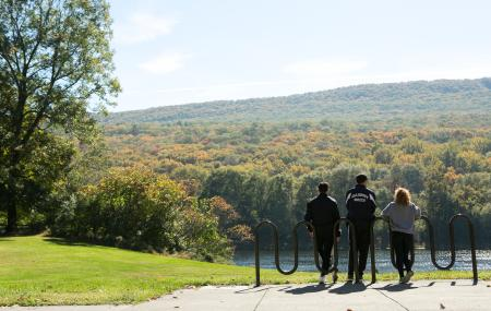 View the Foliage on at Fall Hike in the Pocono Mountains