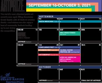 ArtPrize and Fall Festivals 2021