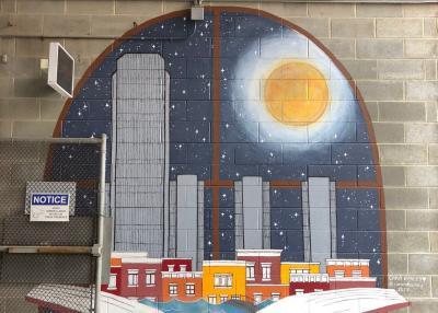 #CapitalWalls mural