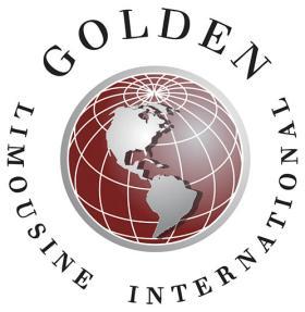Golden Limousine logo