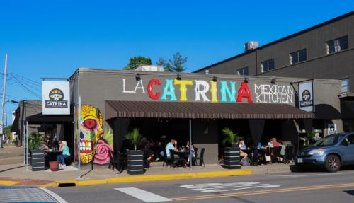 Exterior of La Catrina Mexican Kitchen with outdoor dining
