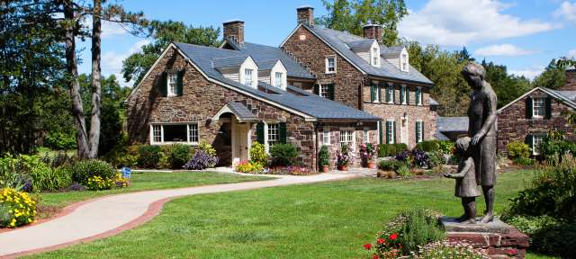 Phenomenal Explore Bucks Countys Historic Stone Houses Home Interior And Landscaping Pimpapssignezvosmurscom