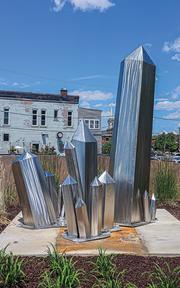 Crystalline sculpture