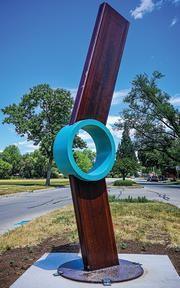 Hesitant sculpture