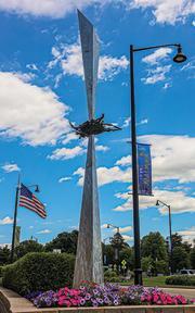 The Nest sculpture