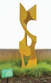 Column Triangle sculpture