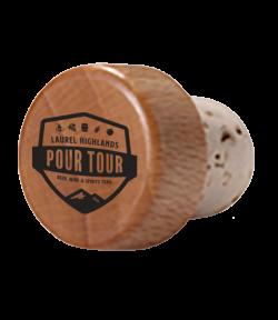 Pour Tour Wine Stopper