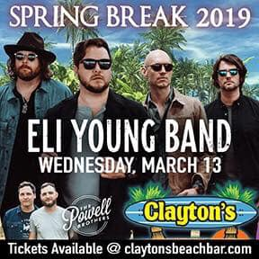Eli Young Band Clayton's