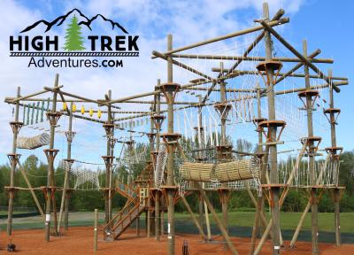 High Trek Adventures obstacle course