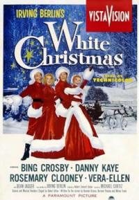 white christmas PAC movie poster
