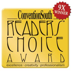 ConventionSouth Reader's Choice Award seal