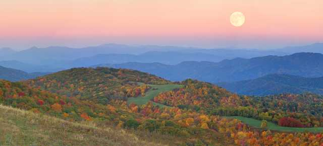 Max Patch Fall Panoramic