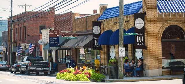 Downtown Weaverville
