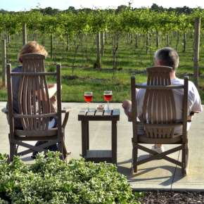 Relaxing at Country Heritage Winery