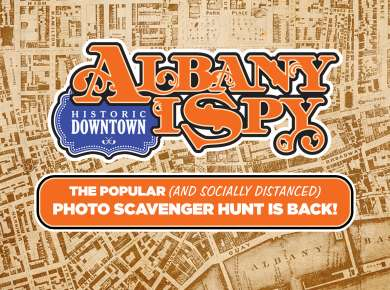 Go on Albany I Spy Scavenger Hunt with these 12 Clues