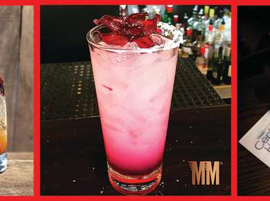 Holiday Cocktail Recipe Header