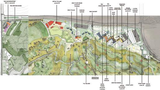 PGA Site Plan