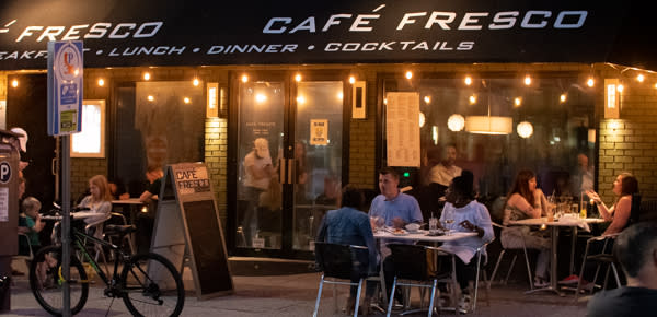 Cafe Fresco Outdoor Dining
