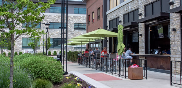 Iron Hill Outdoor Dining