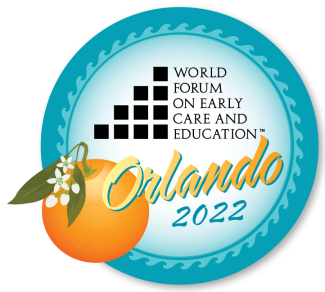 World Forum on Early Care and Education Orlando 2022 logo
