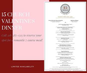 15 Church Valentine's Day Menu