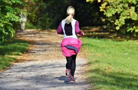 Exercising in parks and on trails allows for easy social distancing.