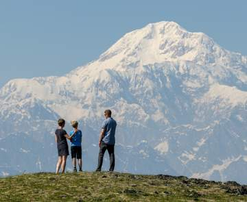The Mat-Su Valley is home to spectacular views of Denali.