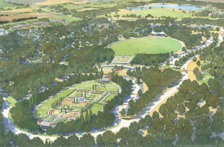 Artist's rendition of W.S. Gibbs Memorial Park