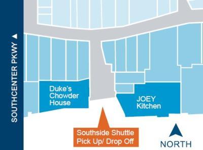 Westfield Mall Shuttle Pick Up Map