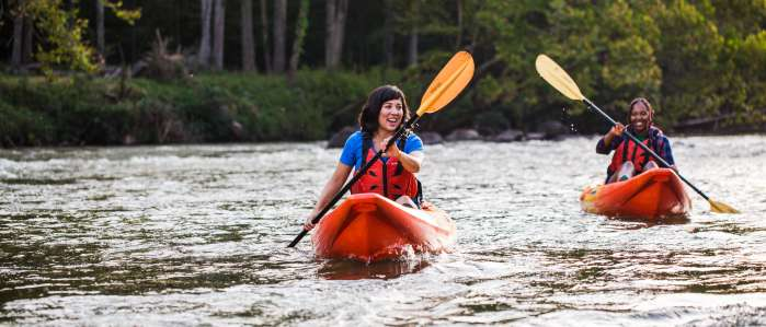 Women_kayaking_Saluda_Shoals_ECSC_Sept_2019_photo_by_Forrest_Clonts_026 Women Kayaking on the River