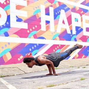 RISE HAPEVILLE Mural_Yoga
