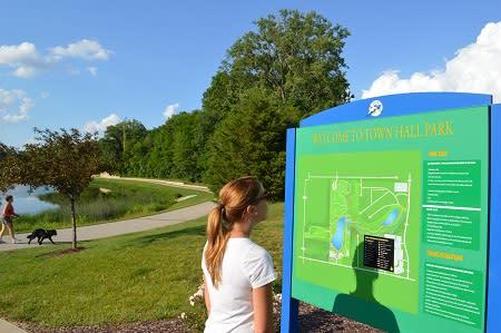 Avon Town Hall Park trail