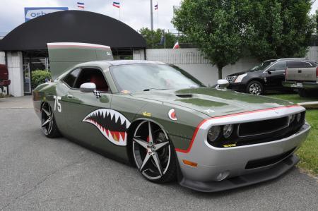 Car displayed at Slamology