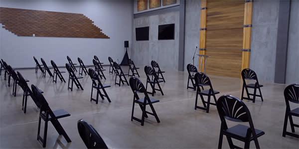 Venue 252 Distanced Room for Speaker