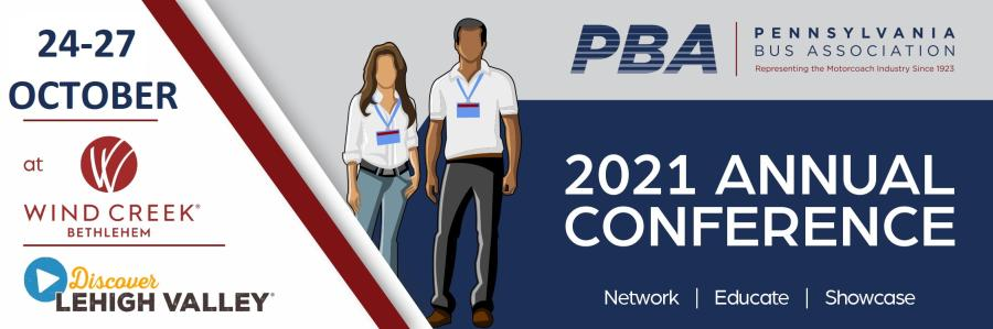 PBA 2021 Annual Conference in Lehigh Valley, PA