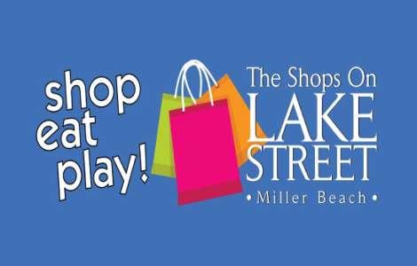 Shops on Lake Street in Gary