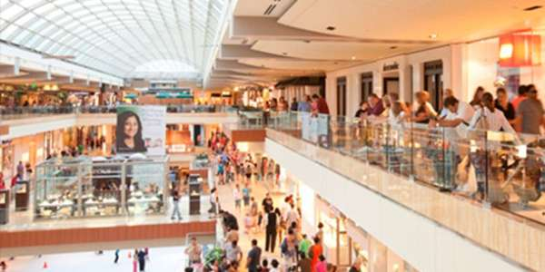 Shopping at Galleria