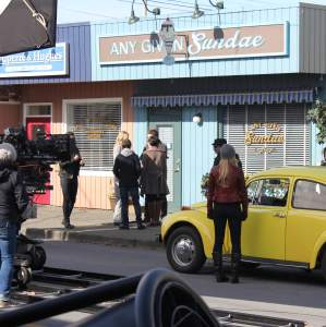 Once Upon a Time Filming