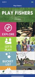 Screenshot City of Fishers Play Fishers app
