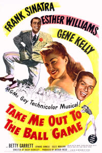 take me out to the ballgame PAC movie poster