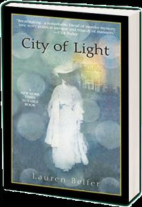 City of Light book by Lauren Belfer