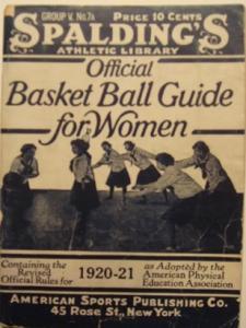 1920s Basketball Rule Book